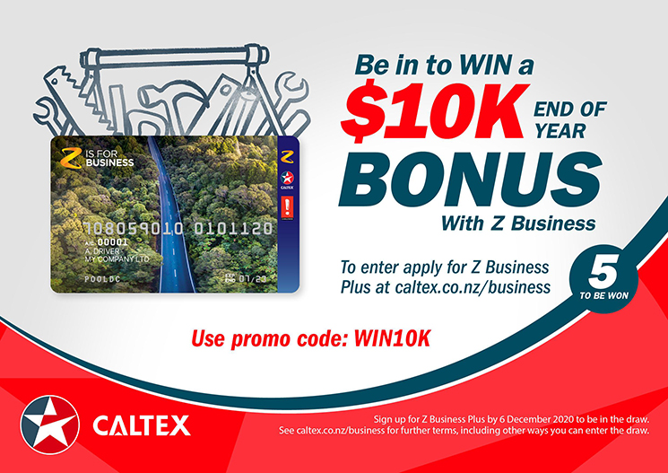 201110 Caltex Business card
