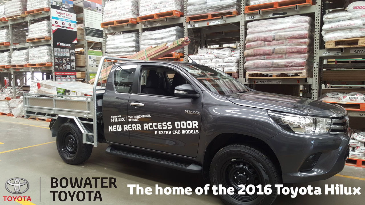 2016 Extra Cab Hilux